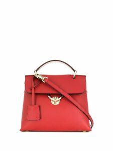 Salvatore Ferragamo colour block tote bag - Red