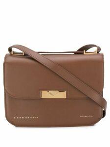 Victoria Beckham Eva shoulder bag - Brown