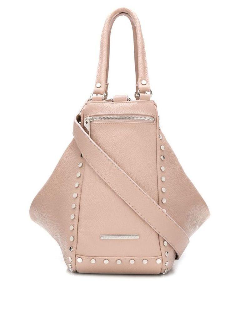 Marc Ellis studded tote bag - Pink
