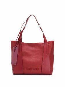 Miu Miu GM tote bag - Red