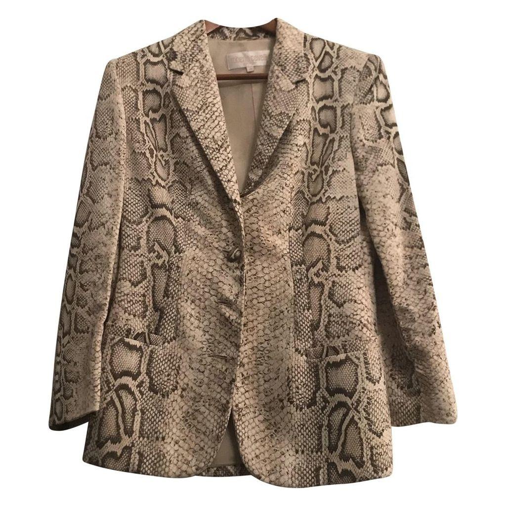 Grey Synthetic Jacket