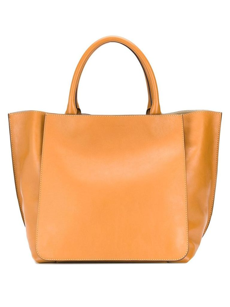 Erika Cavallini large tote bag - Brown
