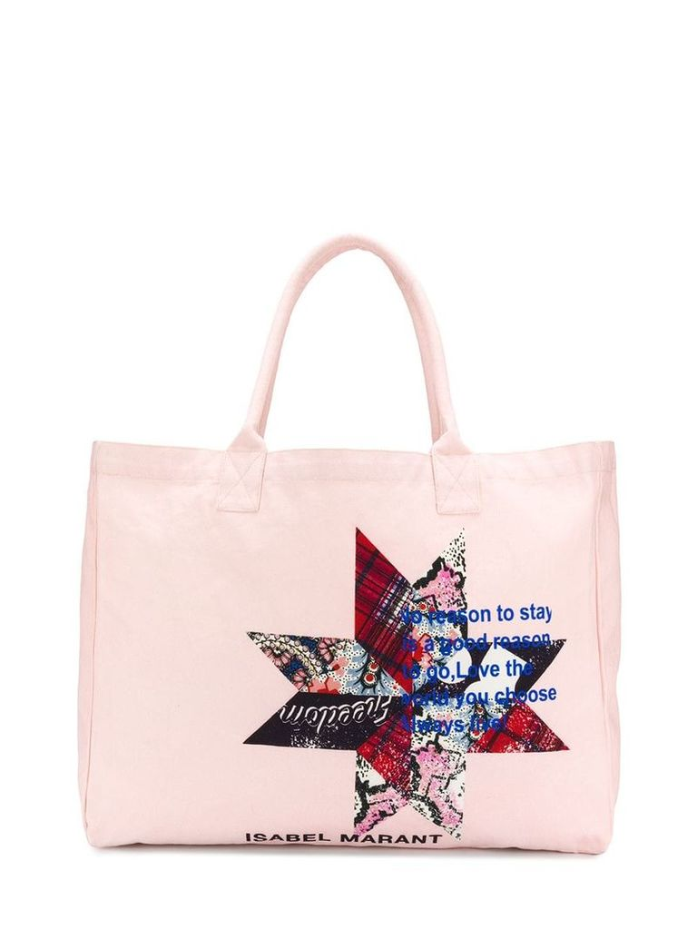 Isabel Marant Yenky shopper tote - Pink