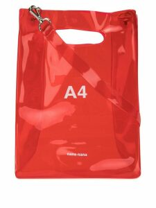 Nana-Nana A4 tote bag - Red