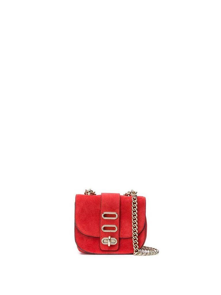 Tila March mini Manon shoulder bag - Red