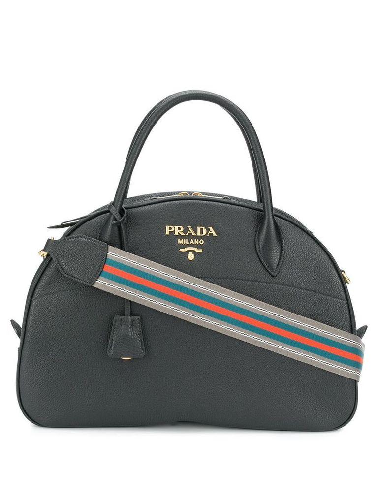 Prada Odette saffiano bag - Black