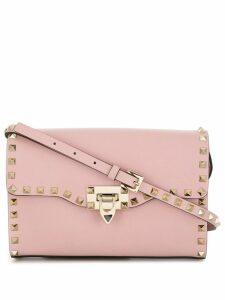 Valentino Valentino Garavani Rockstud shoulder bag - Pink