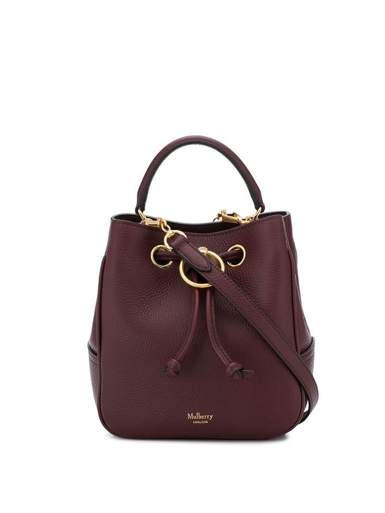 Mulberry Hampstead bucket bag - Red