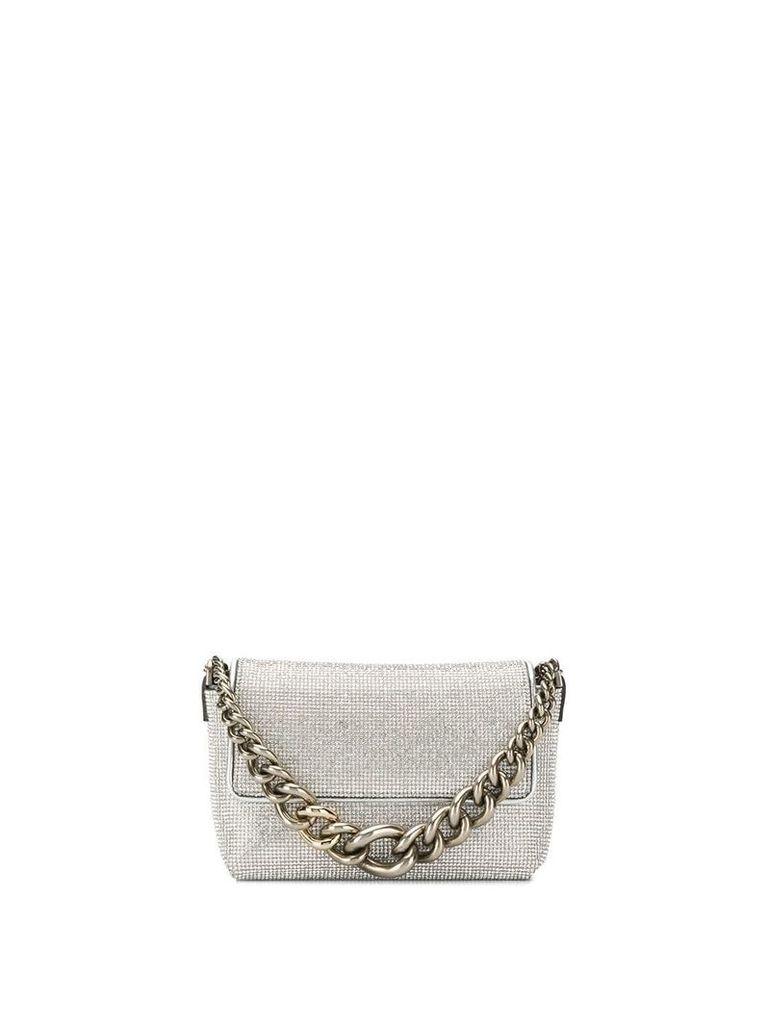 Ermanno Scervino chunky chain mini bag - Silver