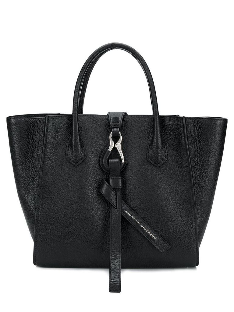 Ermanno Scervino trapeze shaped tote - Black
