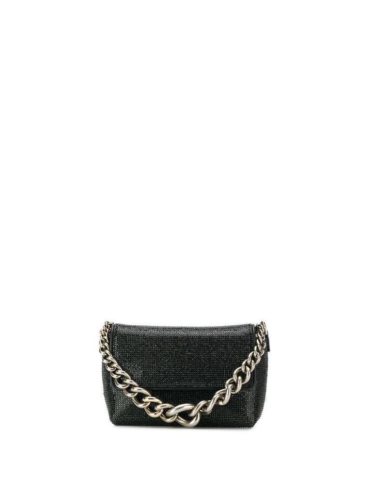 Ermanno Scervino chunky chain mini bag - Black