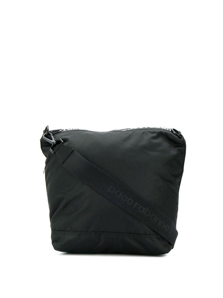 Paco Rabanne contrast logo tote - Black