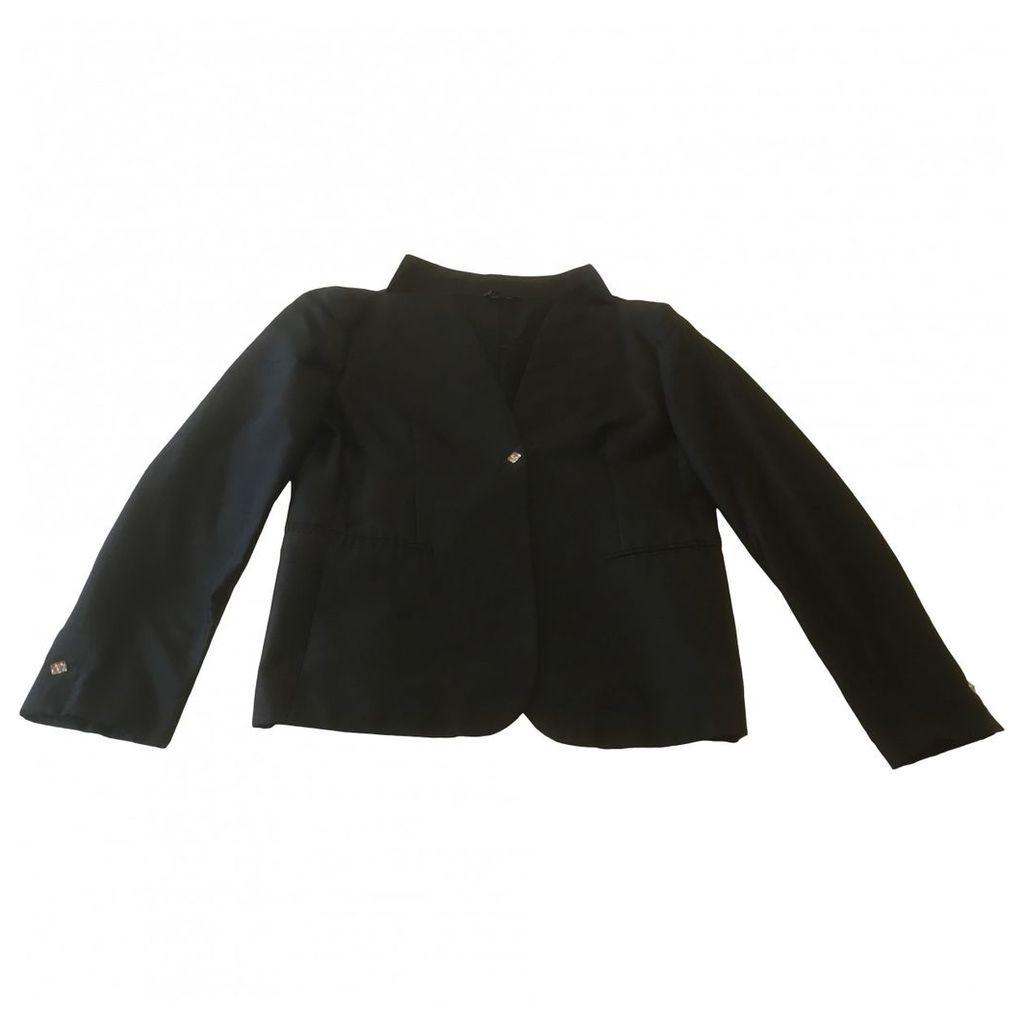 Silk suit jacket
