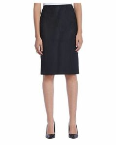 Bailey 44 Sang-Froid Pinstriped Ponte Pencil Skirt