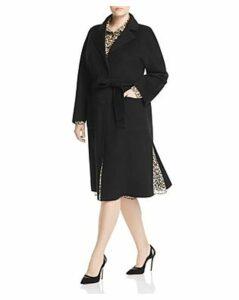 Marina Rinaldi Belted Coat