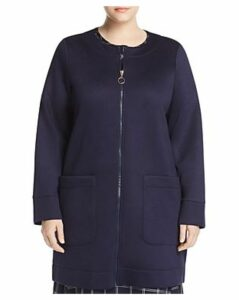 Marina Rinaldi Occupare Front-Zip Coat