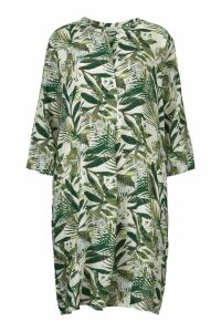 Womens Masai Green Print Natalia Dress -  Blue