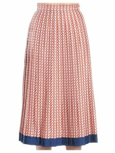 Valentino v Optical Skirt