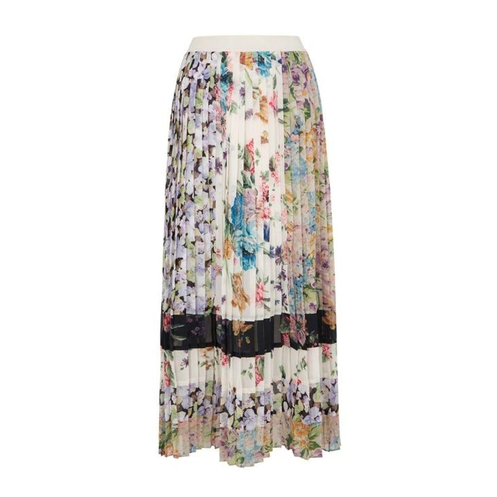 Zimmermann Ninety-Six Printed Chiffon Skirt