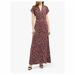 French Connection Aubi Meadow Maxi Dress, Rosso Red