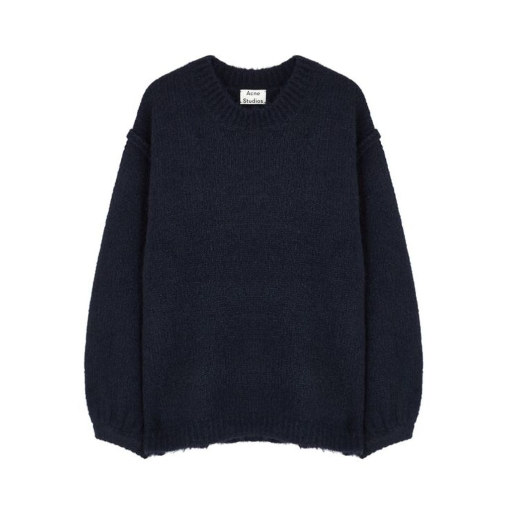 Acne Studios Navy Knitted Jumper