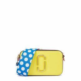 Marc Jacobs Snapshot Yellow Leather Shoulder Bag