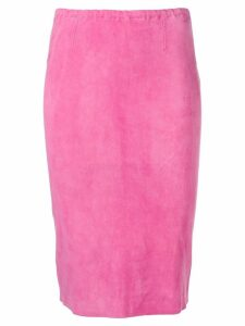 Stouls Gilda pencil skirt - Pink