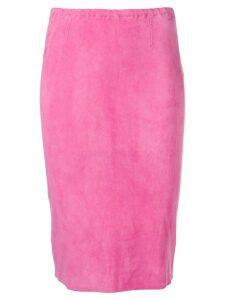 Stouls Gilda pencil skirt - Pink