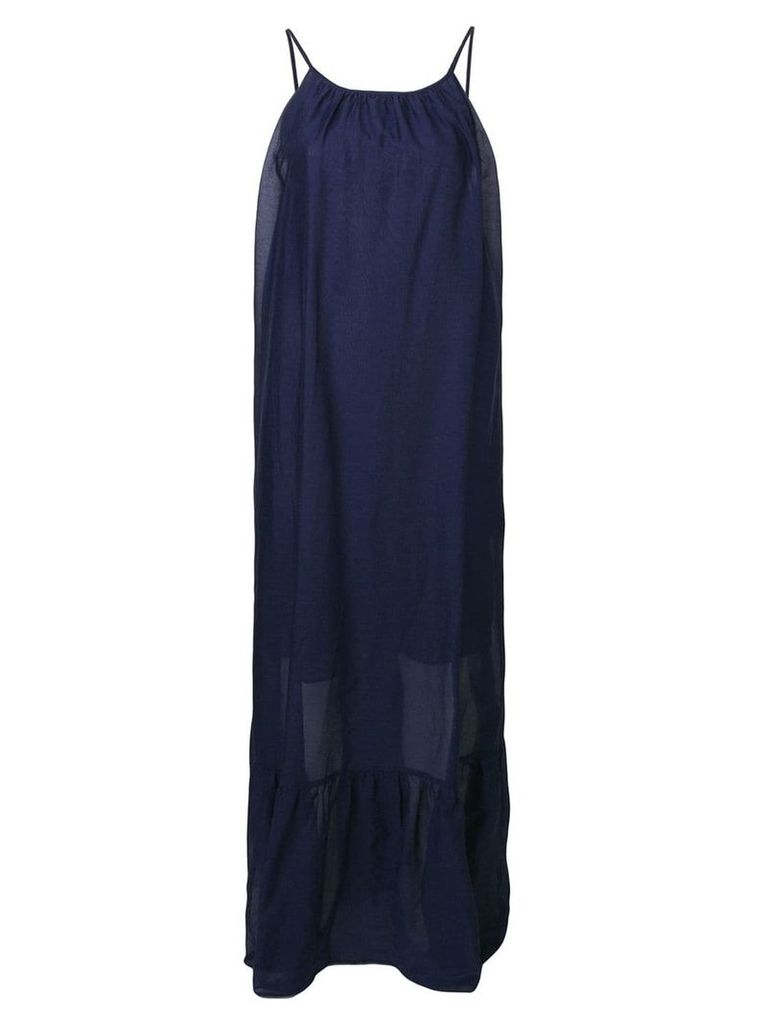 Semicouture spaghetti strap dress - Blue