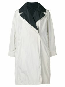 Max Mara wide lapelled raincoat - Neutrals