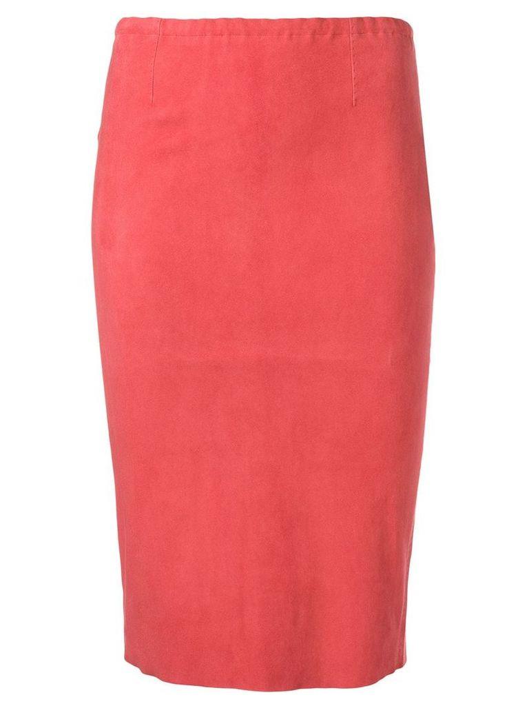 Stouls Gilda pencil skirt - Red