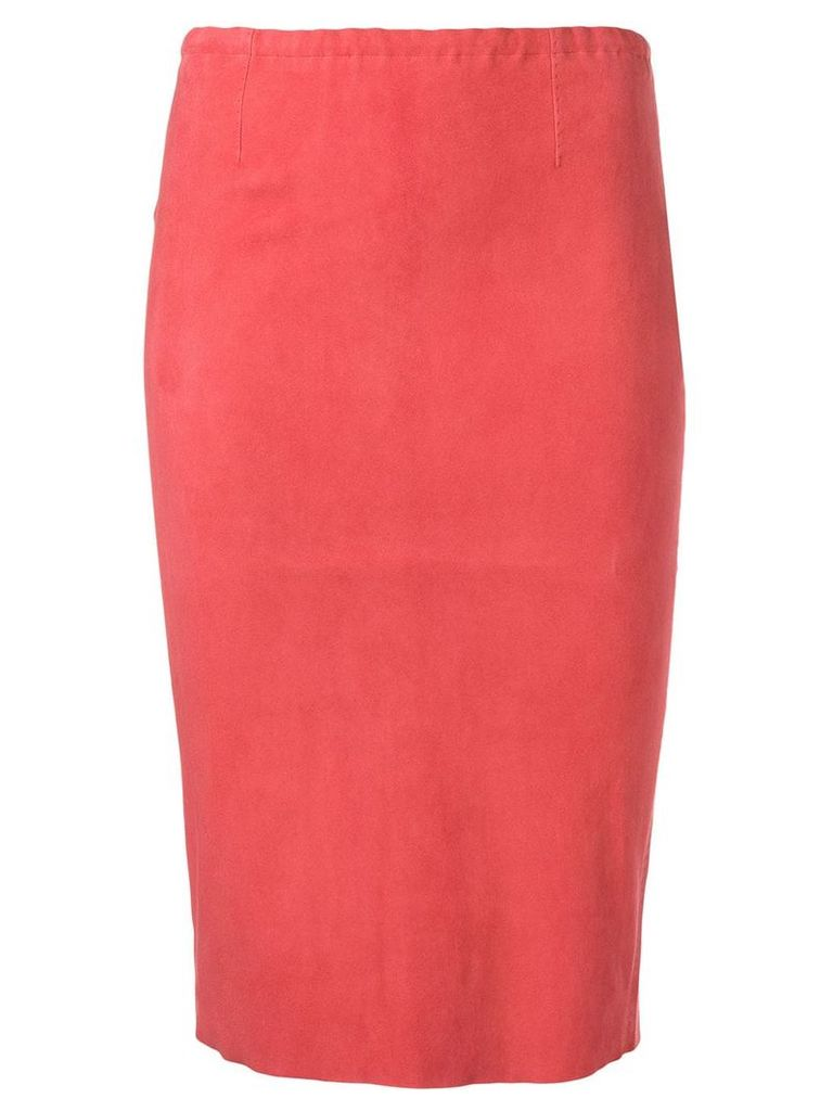 Stouls Gilda pencil skirt - Red