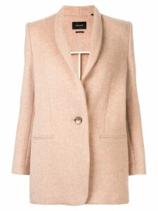 Isabel Marant single-breasted fitted coat - Pink