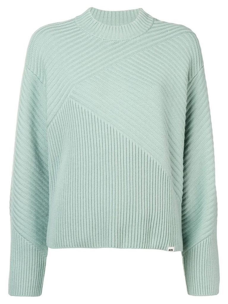 Wood Wood ribbed jumper - Green