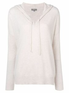 N.Peal knitted hoodie - Neutrals