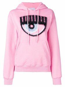 Chiara Ferragni signature eye hoodie - Pink