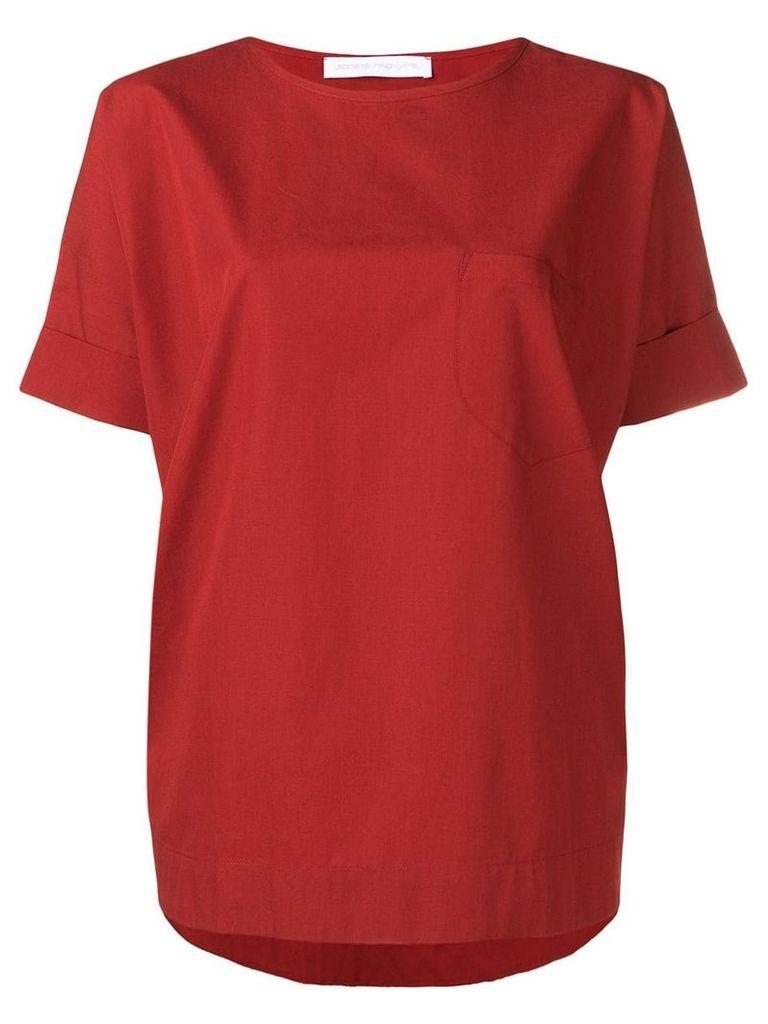 Société Anonyme red oversized T-shirt