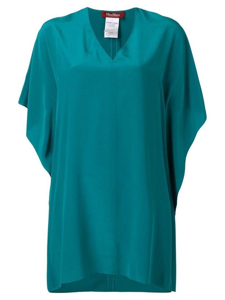 Max Mara Studio V-neck blouse - Blue
