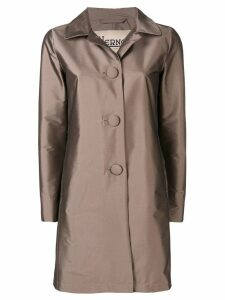Herno single-breasted coat - Neutrals