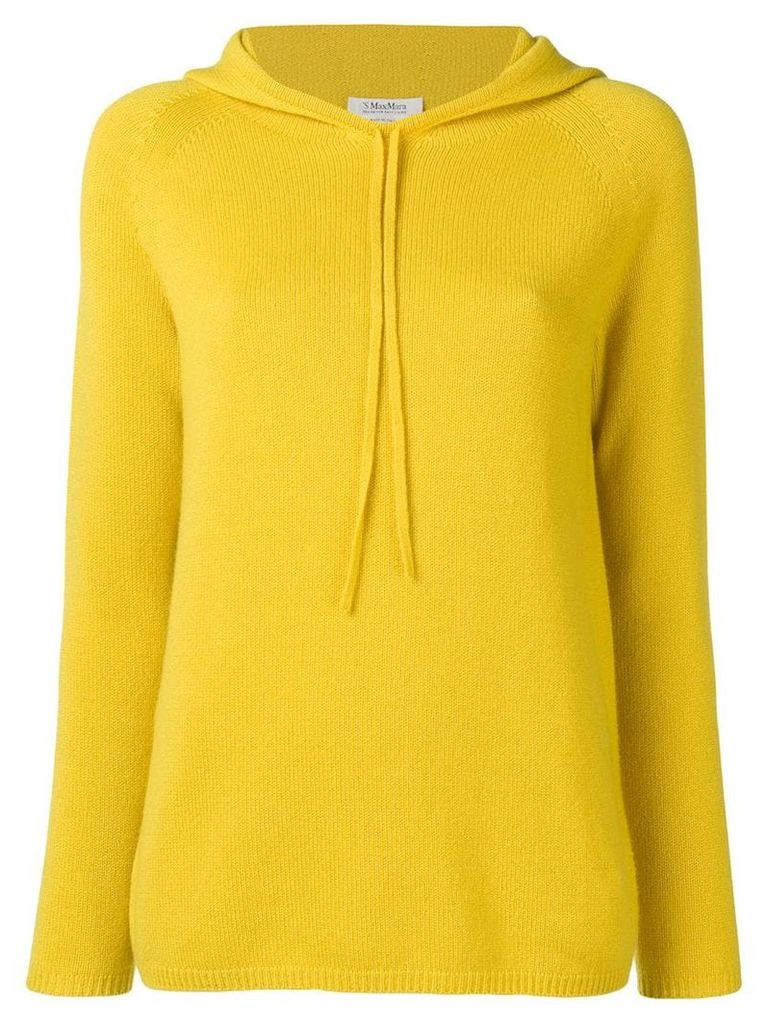 'S Max Mara hooded jumper - Yellow