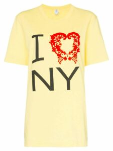 Rosie Assoulin I love NY T-shirt - Yellow