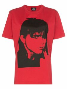Calvin Klein 205W39nyc portrait print cotton T-shirt - Pink