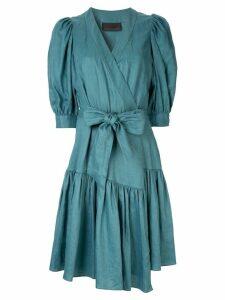 Ginger & Smart Serenity wrap dress - Green