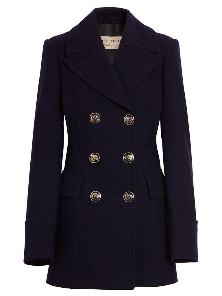 Burberry tailored pea coat - Black
