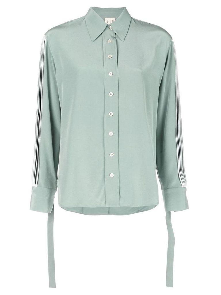 Bodice Studio pleated sleeve shirt - Green