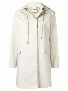 Aspesi hooded parka coat - Neutrals