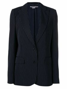 Stella McCartney pinstriped blazer jacket - Blue