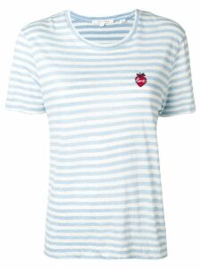 Chinti & Parker Love striped T-shirt - Blue
