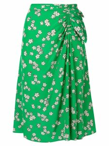 P.A.R.O.S.H. floral print skirt - Green