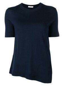 Pringle Of Scotland Asymmetric Merino jumper - Blue